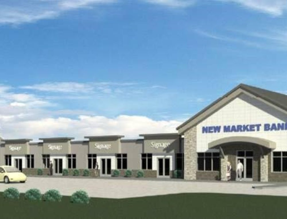 Greystone Construction and New Market Bank break ground on new commercial building