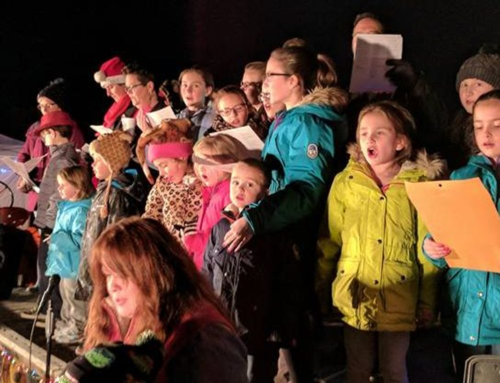 3rd Annual Christmas Tree Lighting Event Warms the Heart