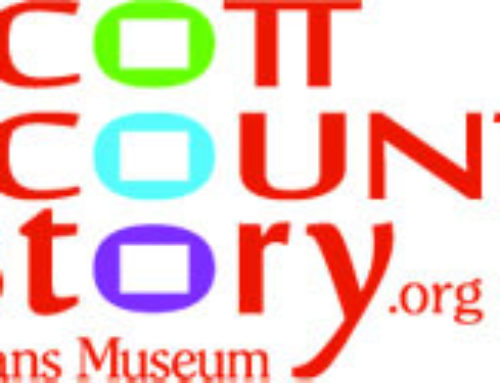 SCHS Receives Grants for New Play Ball! Sports in Scott County Exhibit