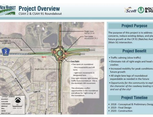 City Seeks Community Input on Roundabout at Co Rds 2 and 91