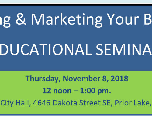 Branding & Marketing Your Business EDUCATIONAL SEMINAR